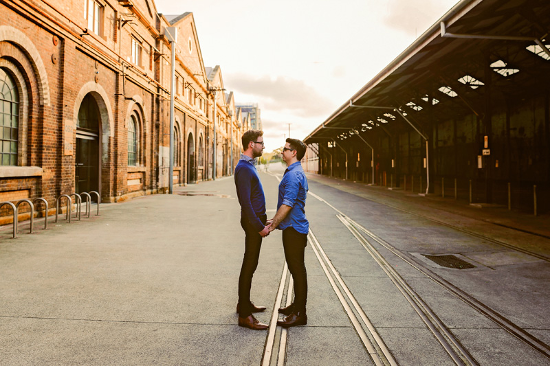 Carriageworks engagement shoot ideas