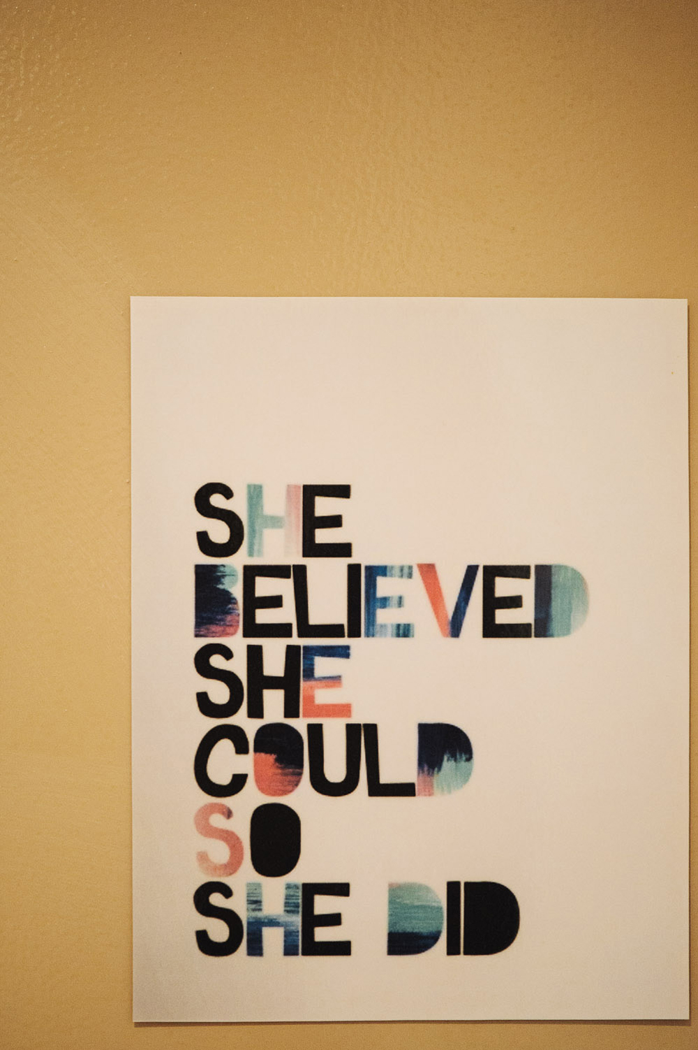 she believed she could so she did fuck yeah motivation believe