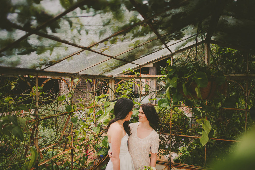 same sex wedding at the grounds alexandria sydney beautiful photography