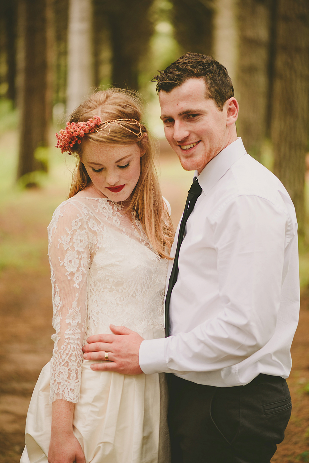 Hunua Ranges Auckland Wedding photographer rainy day