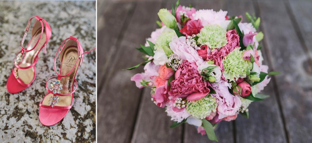 Beautiful bouquet of flowers made by Red Earth Flowers Melbourne