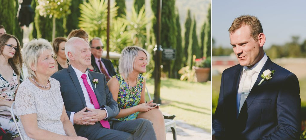 Melbourne wedding photographer Olivigna Warrandyte with guests having a great time